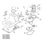 Bosch Universal Mixer Parts